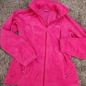 Women size small hot pink Columbia